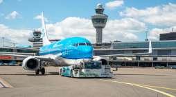 KLM start proef met duurzaam taxiënde vliegtuigen